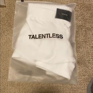 Pants - Talentless Boxing Short size M white